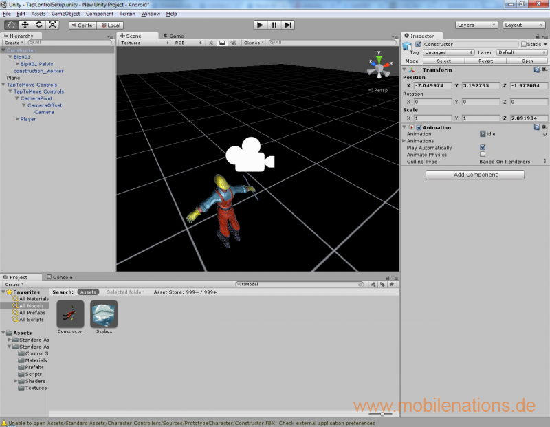 Unity Engine for free for mobile systems | mobilenations de