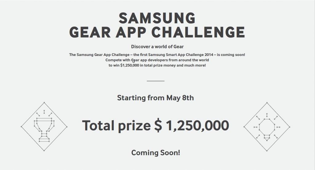 Samsung Gear App Challenge
